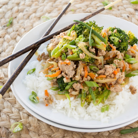 Ground Turkey & Broccoli Stir-Fry