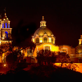 Cholula Church by Cristobal Garciaferro Rubio - Buildings & Architecture Other Exteriors ( cholula, mexico, virgen de los remedios, puebla, curch )