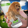 App Lion On Screen Scary Joke apk for kindle fire