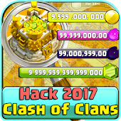 Gems ?? Of COC Prank Icon
