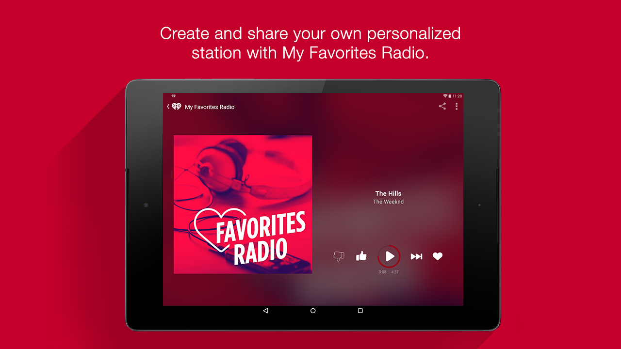 iHeartRadio Free Music & Radio Screenshot 11