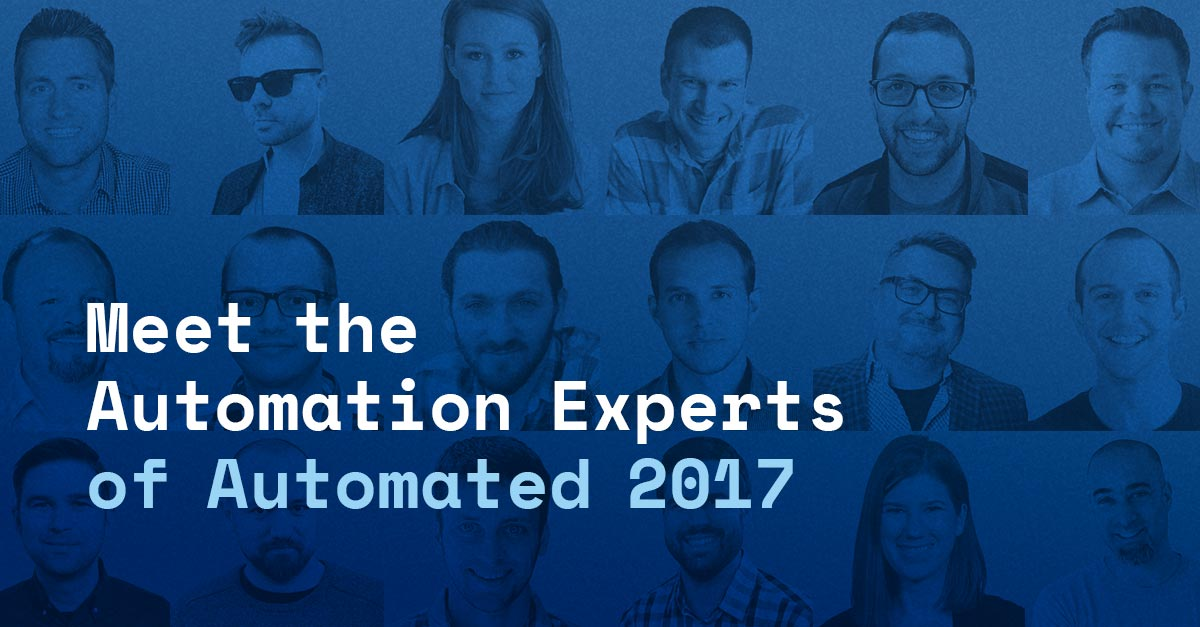 The Marketing Automation Experts Speaking at Automated 2017, Our Free Virtual Conference