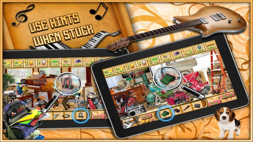 android Classic Piano - Hidden Object Screenshot 0