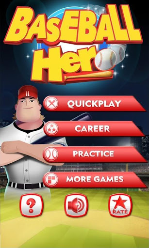 Baseball Hero screenshot 1