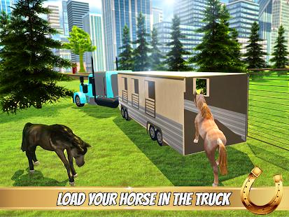 Transporter Truck Horse Stunts APK for Bluestacks