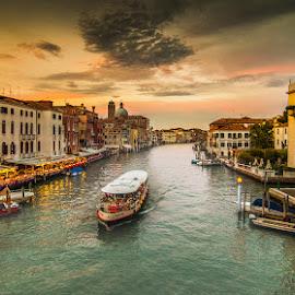 Venice by Albin Bezjak - City,  Street & Park  Vistas