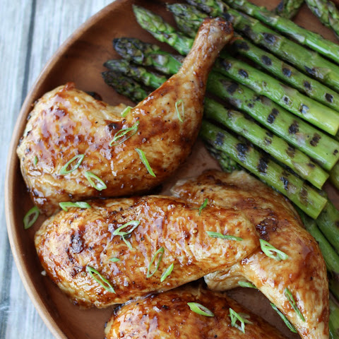 Gluten Free Beer Can Chicken with Asian Glaze | Father's Day BBQ