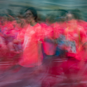 Womens Run by VAM Photography - People Street & Candids ( spain, sports, run, madrid, abstract, people, women )