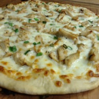 Garlic Chicken w/Ranch Pizza