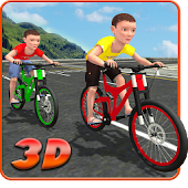 Free Kids Bicycle Rider Street Race APK for Windows 8