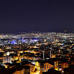 by Ahmet Çamaltı - City,  Street & Park  Street Scenes