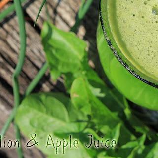 Dandelion Juice Recipes
