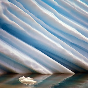 Colors of Ice by Tim Vollmer - Nature Up Close Water ( iceberg, reflection, floating iceberg, blue ice, ice, texture, greenland, texture in ice )