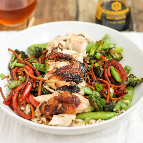Cornish Game Hen Teriyaki Stir Fry Bowls
