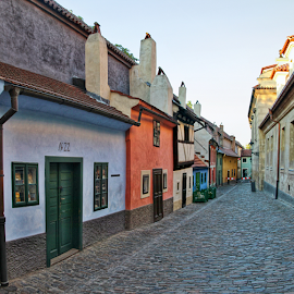 Zlatá ulička, Praha by Irena Brozova - City,  Street & Park  Historic Districts