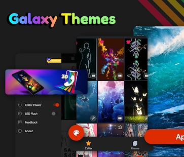 Galaxy Themes: Themes & Call Flash & Ringtones for pc