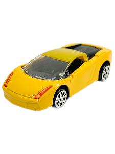 """Машинка гоночная """"Фиксики"""" 1:64 Нолик желтая"""