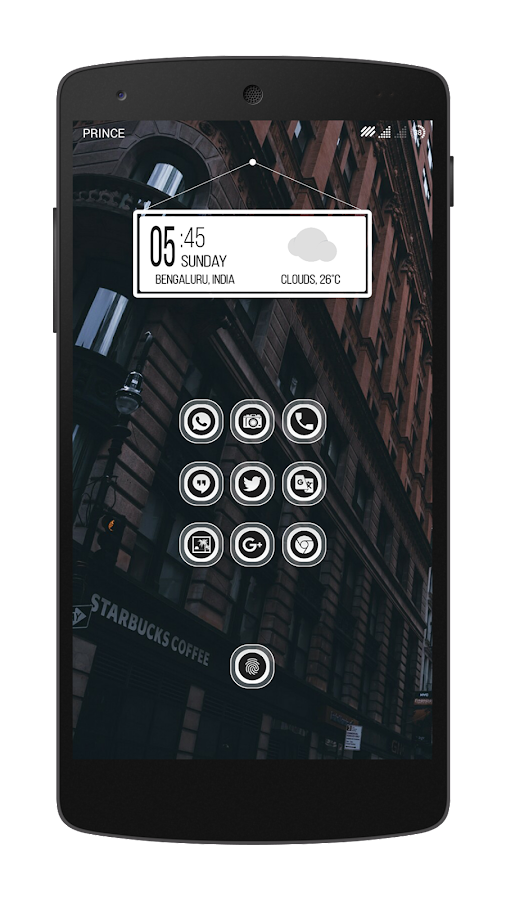 Transpiro Black Icon Pack Screenshot 1
