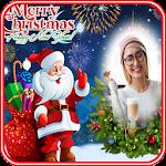 Christmas New Year 2018 Photo Frame Icon