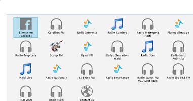 Screenshot of Haiti Radios