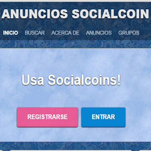 Socialcoinstore - screenshot
