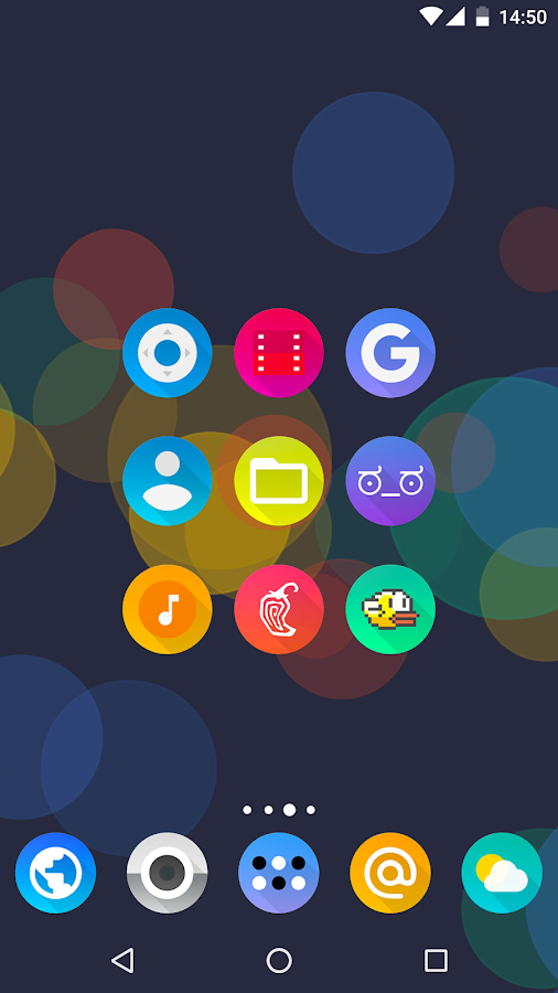 Aurora UI - Icon Pack Screenshot