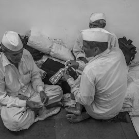 PALKHI by Rit Tar - People Street & Candids ( project, story, black and white, candids, photojournalism, festival, candid, bnw )