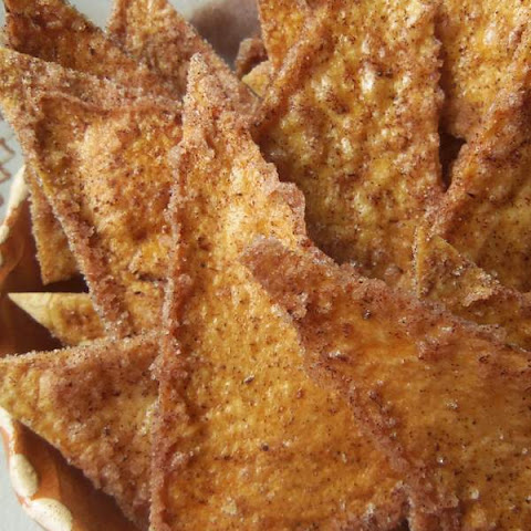 Baked Buñuelo Chips