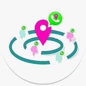 Find nearby Friend in whatsapp