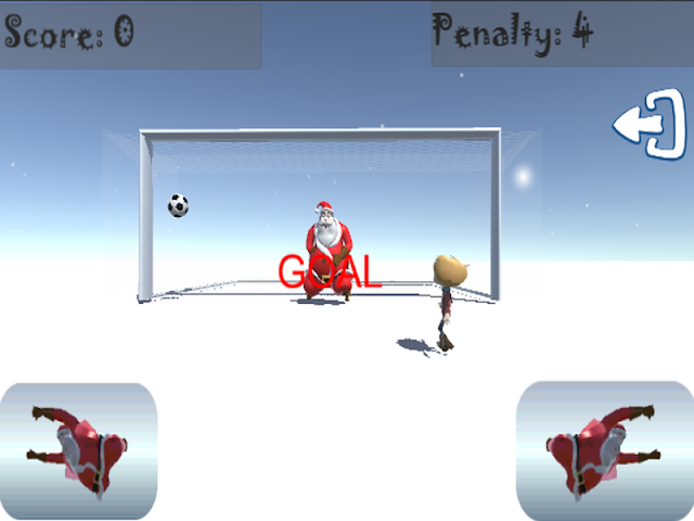 android Santa Goalkeeper Screenshot 4