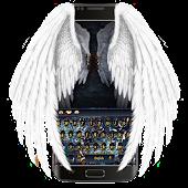 APK App Wings throne war keyboard for BB, BlackBerry