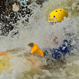 White Water Kayaking by Huet Bartels - Sports & Fitness Watersports