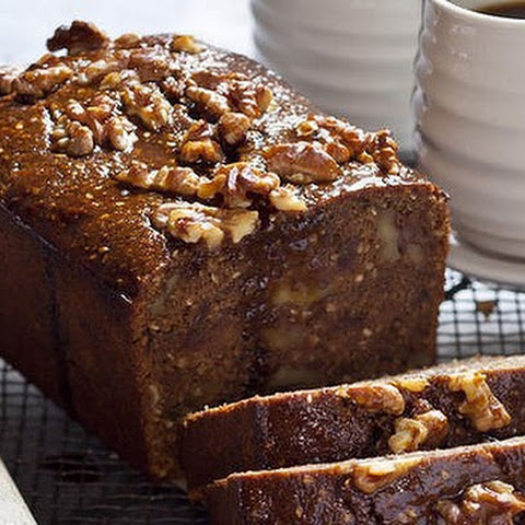 Spiced Coffee, Date And Pomegranate Loaf