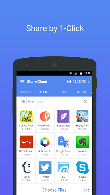 Download ShareCloud – Share By 1-Click app for Android