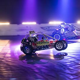 wheelie!  by Mike Newland - Sports & Fitness Motorsports