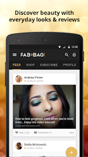 FAB BAG - screenshot