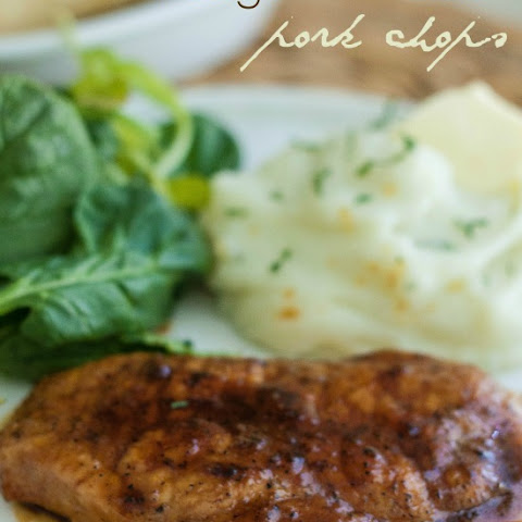 Brown Sugar Glazed Pork Chops