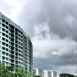 Vista along Waterway, Singapore  by Wan Loy Yeong - City,  Street & Park  Vistas