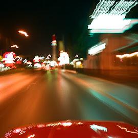 Las Vegas Blvd Southbound by Ruben Garcia Villamil - Transportation Automobiles