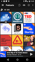 Screenshot of Podcast Addict