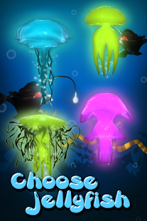 Jellyfish Go Jump! - Deep Sea - screenshot