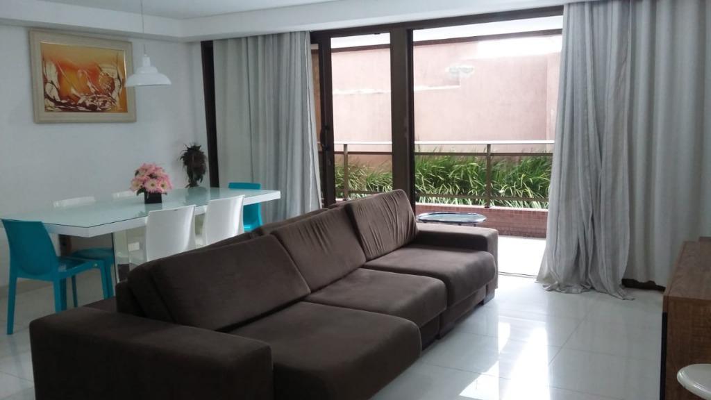 Apartamento com 3 dormitórios à venda, 126 m² por R$ 1.300.000 - Cabo Branco - João Pessoa/PB