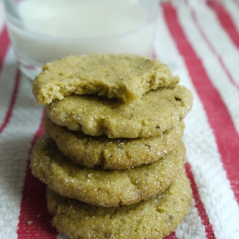 Sugared Pistachio Cookies