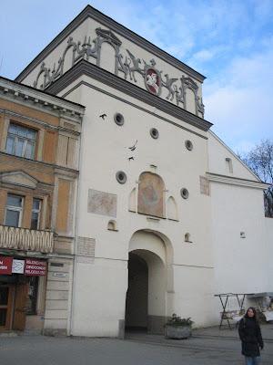 Острая брама в Вильнюсе