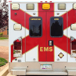 ambulande by Debbie Theobald - Instagram & Mobile iPhone ( ambulance, arizona, payson, unedited, transportation,  )