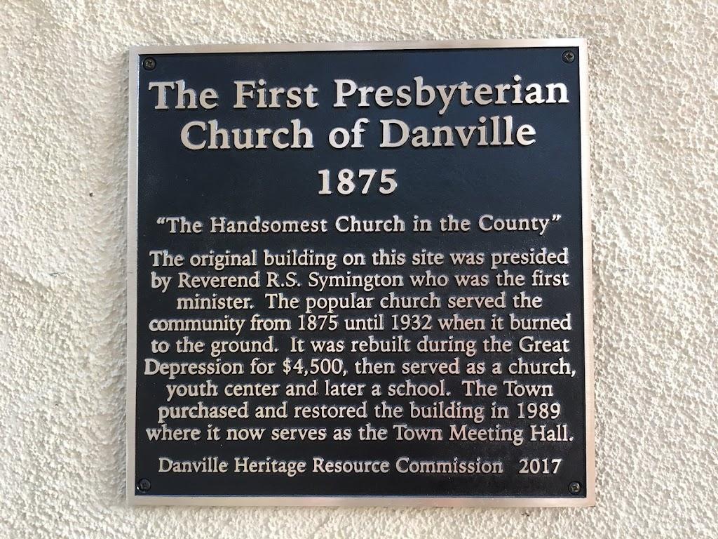 The First Presbyterian Church of Danville 1875