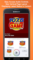 Screenshot of 107.5 The Game