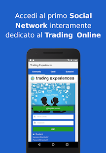 Trading Experiences screenshot for Android