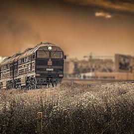 by Boldbaatar Tsend - Transportation Trains