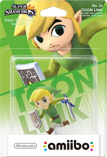 Toon Link packaged (thumbnail) - Super Smash Bros. series